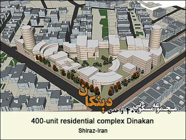 400-unit residential complex Dinakan