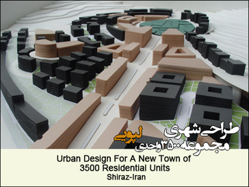 Urban Design For A New Town of 3500 Residential Units